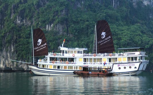 Halong Viola cruise 3 days 2 nights