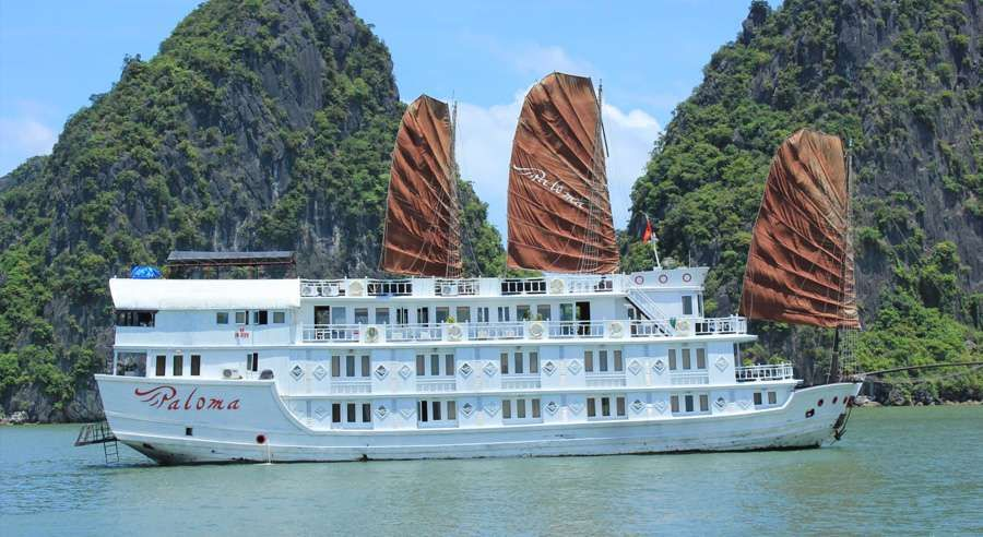 Ha Long Bay Paloma cruise 3 Days  2 Nights